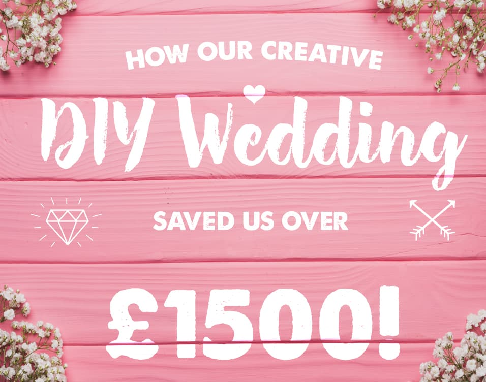 Peppers Crafts - How our creative DIY wedding saved us over two thousand pounds